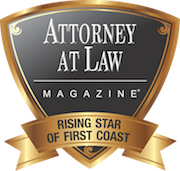 Attorney at Law Magazine Rising Star of First Coast